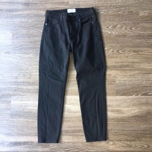 Everlane Black Hi Rise Skinny Ankle Jeans- 31